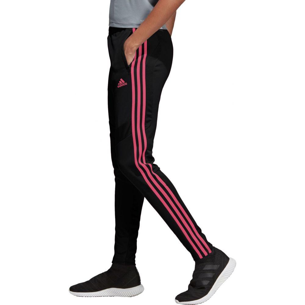 アディダス adidas レディース フィットネス・トレーニング ボトムス・パンツ【Tiro 19 Training Pants】Black/Magenta