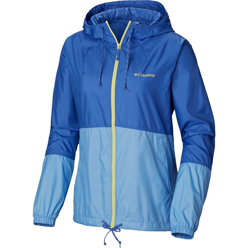 コロンビア Columbia レディース ジャケット ウィンドブレーカー アウター【Flash Forward Windbreaker Jacket】Arctic Blue/White Cap
