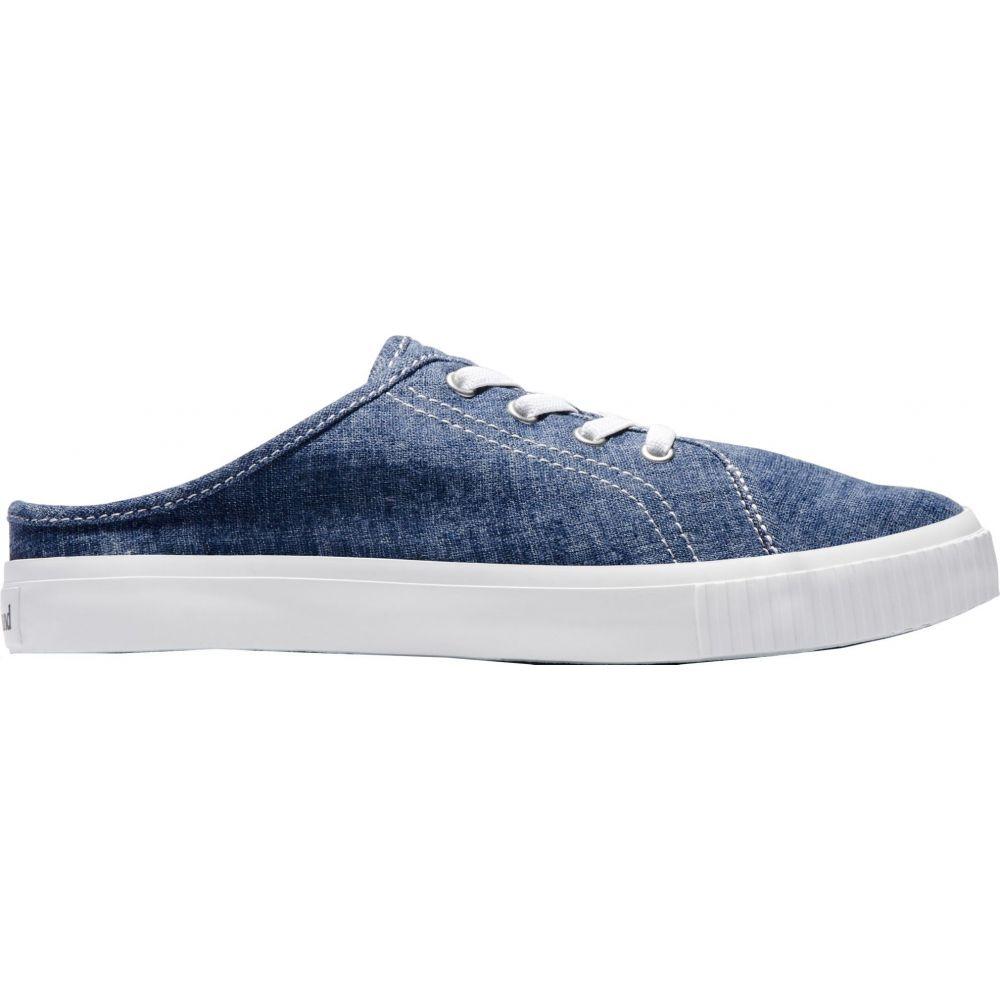 ティンバーランド Timberland レディース スリッポン・フラット シューズ・靴【Skyla Bay Canvas Mule Casual Shoes】Vintage Indigo