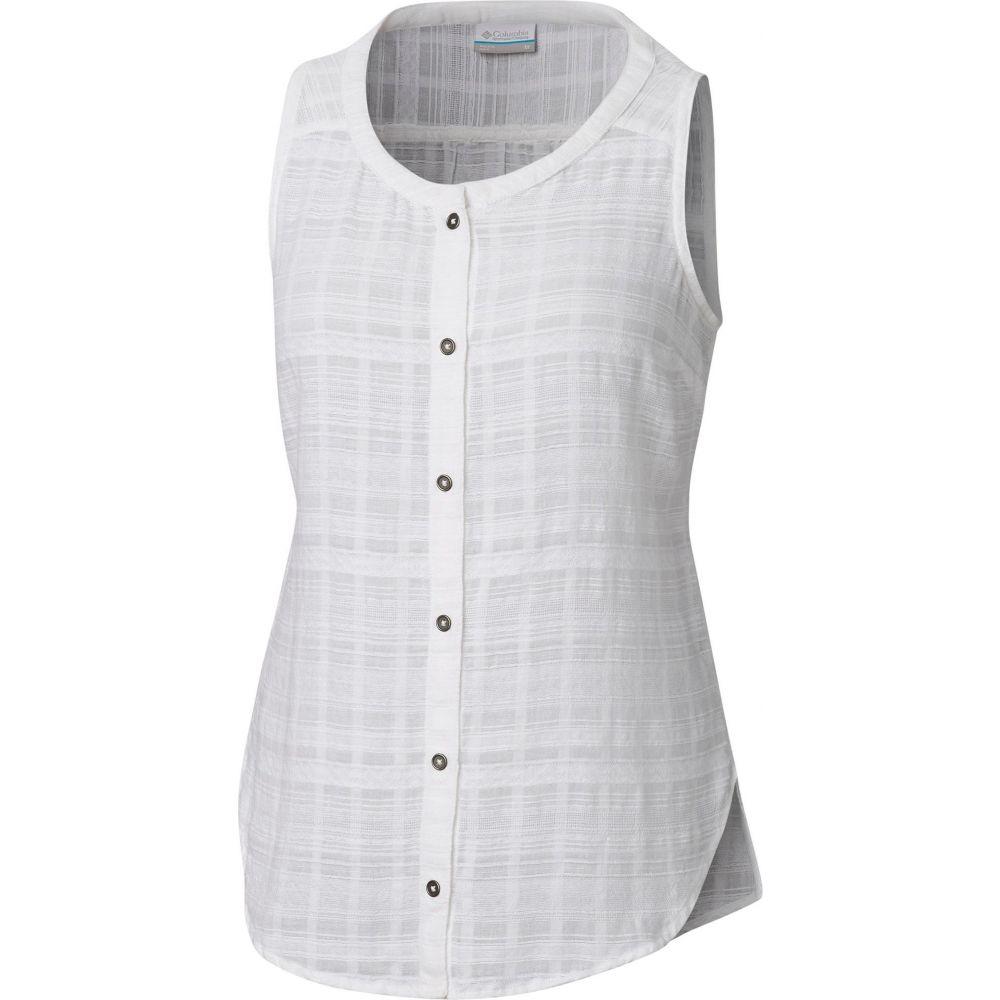 コロンビア Columbia レディース ノースリーブ トップス【Summer Ease Sleeveless Shirt】White