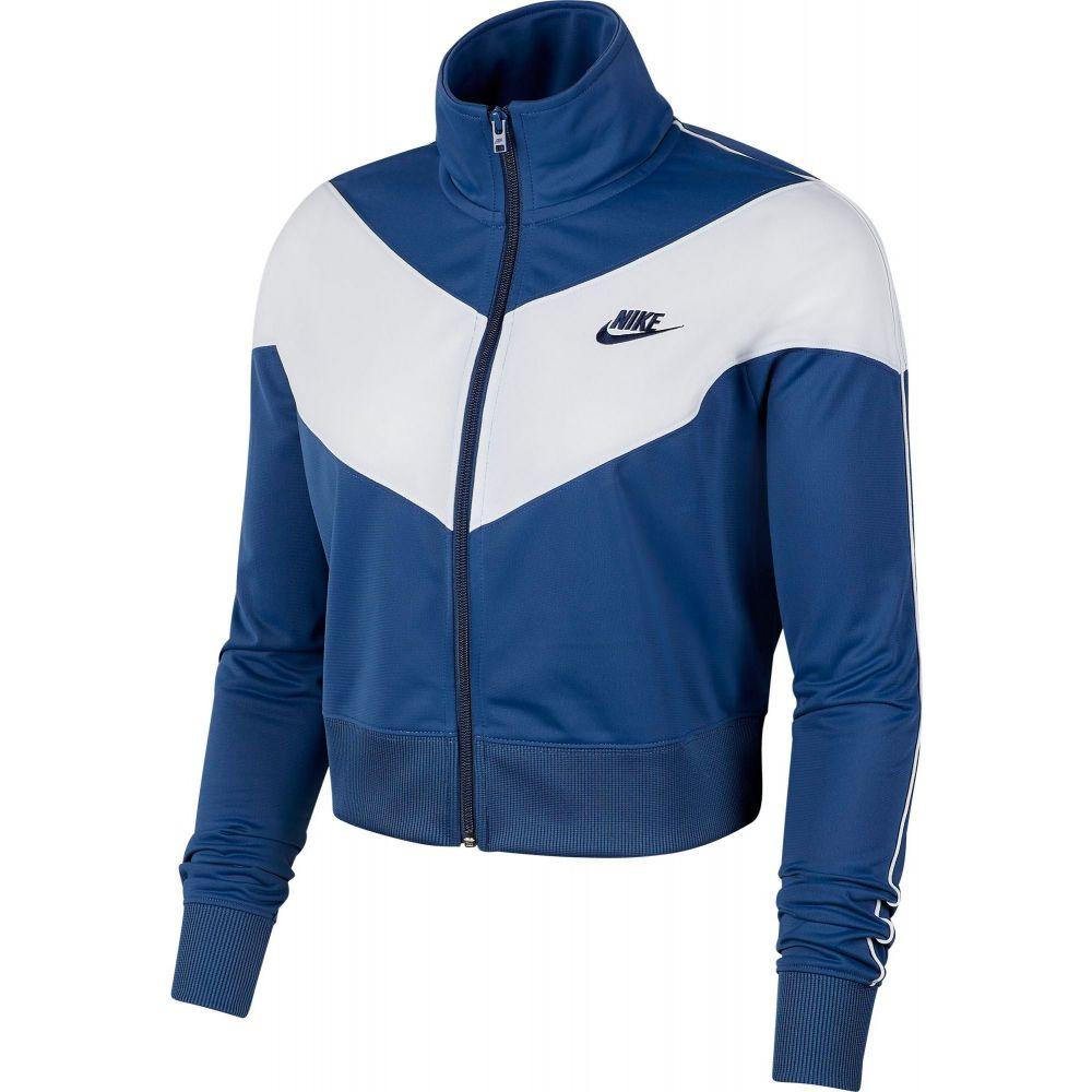 ナイキ Nike レディース ジャージ アウター【Sportswear Heritage Track Jacket】Mystic Navy