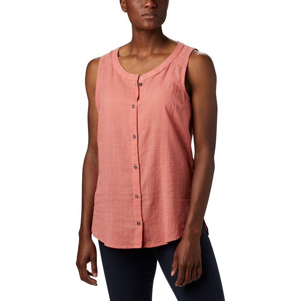 コロンビア Columbia レディース ノースリーブ トップス【Summer Ease Sleeveless Shirt】Dark Coral