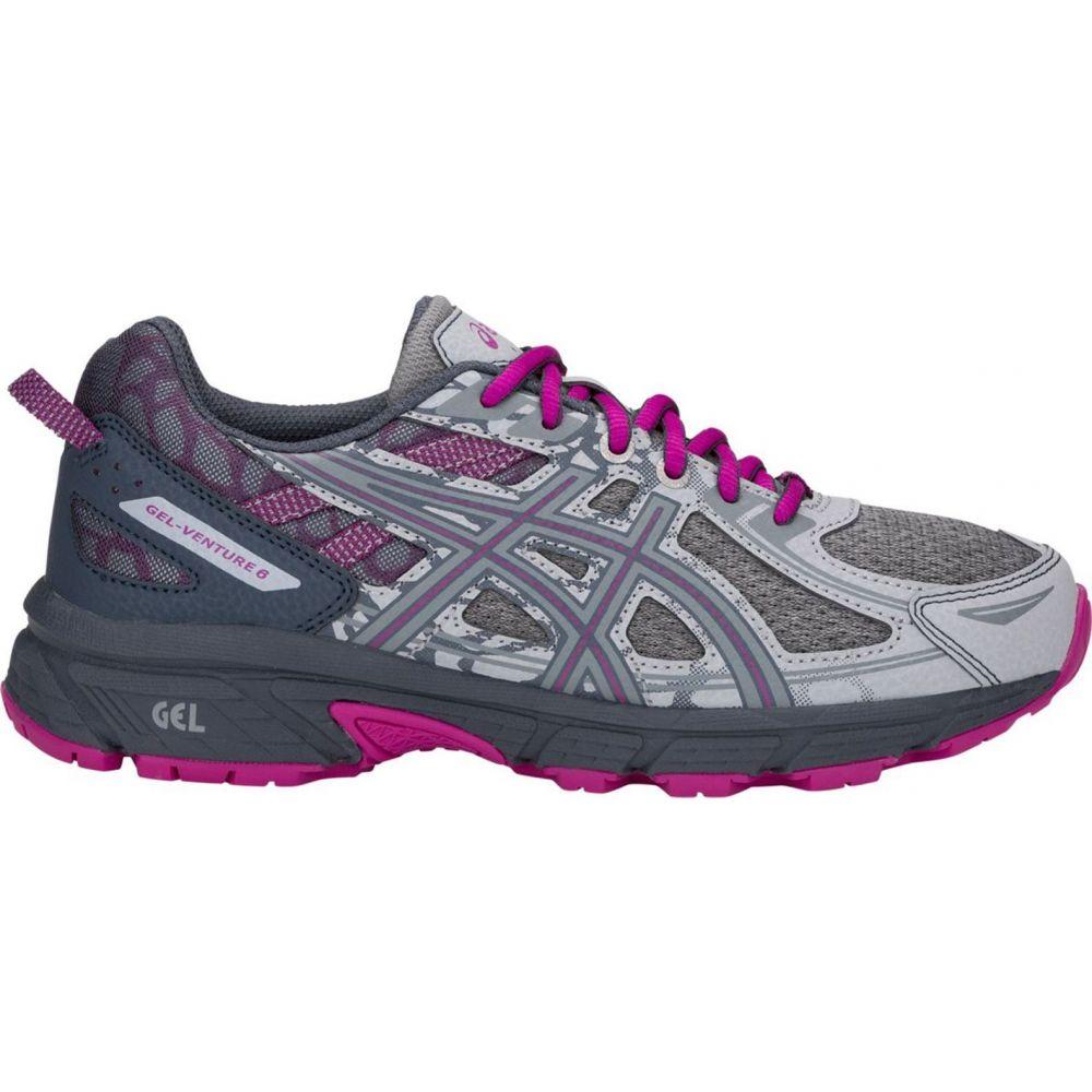 アシックス ASICS レディース ランニング・ウォーキング シューズ・靴【GEL-Venture 6 Running Shoes】Grey/Purple