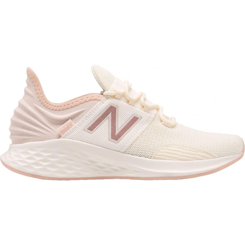 ニューバランス New Balance レディース ランニング・ウォーキング シューズ・靴【Fresh Foam Roav V1 Running Shoes】White/Rose Gold