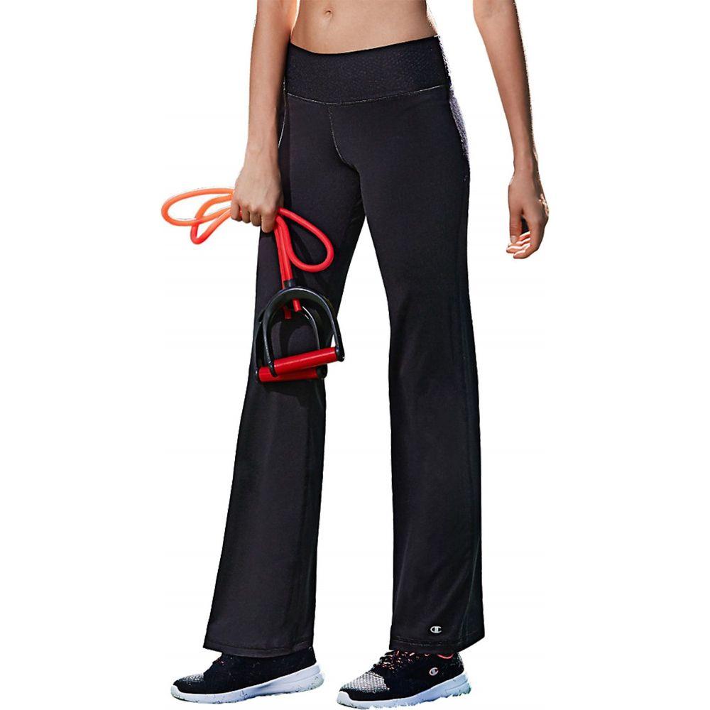 チャンピオン Champion レディース ボトムス・パンツ 【Absolute Semi-Fit SmoothTec Band Pants】Black