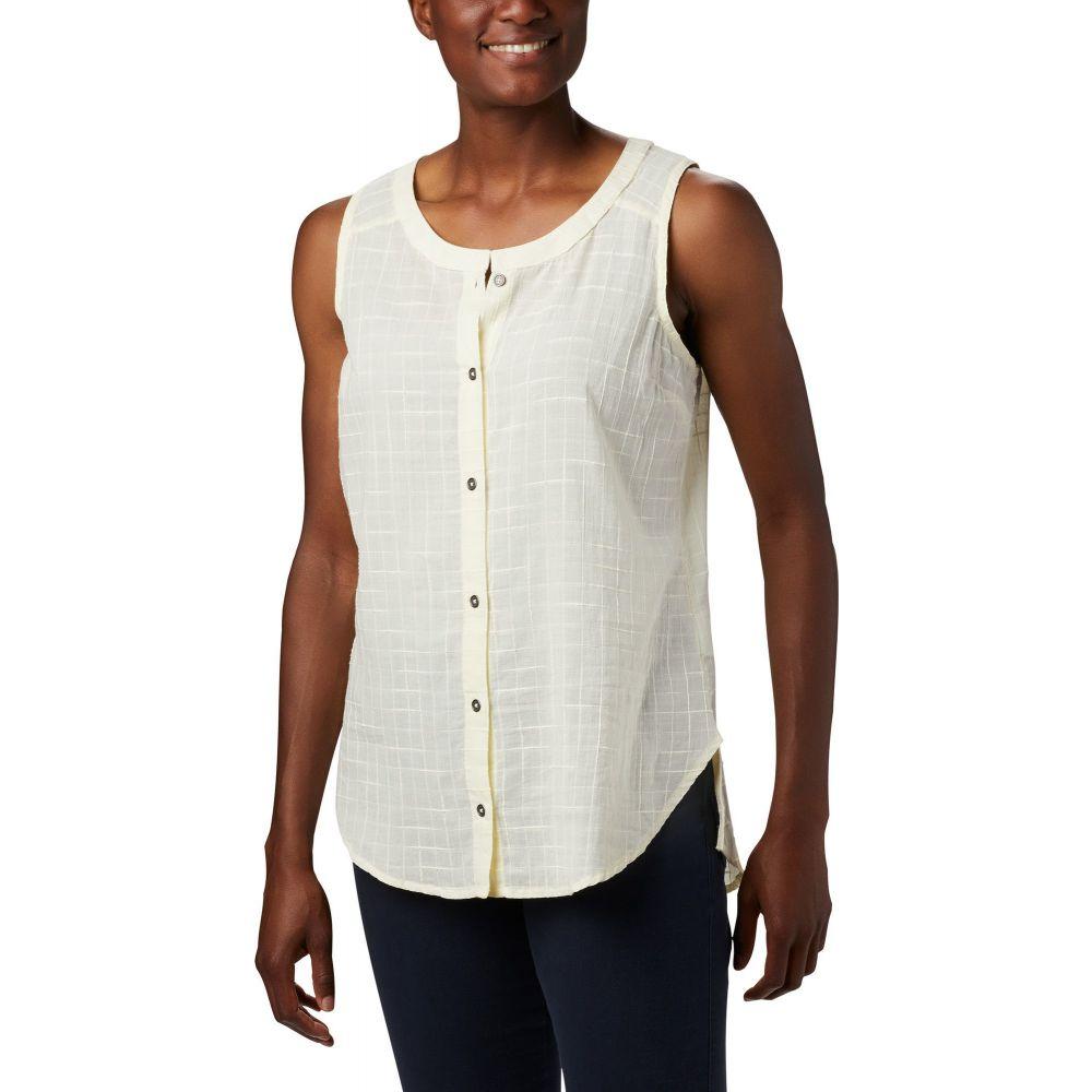 コロンビア Columbia レディース ノースリーブ トップス【Summer Ease Sleeveless Shirt】Pale Yellow