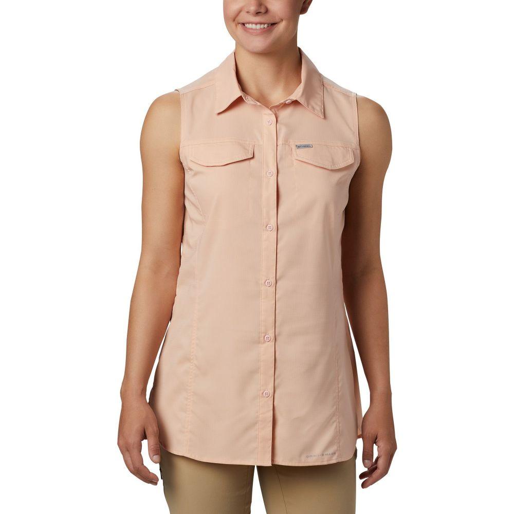 コロンビア Columbia レディース ノースリーブ トップス【Silver Ridge Lite Sleeveless Shirt】PEACH CLOUD
