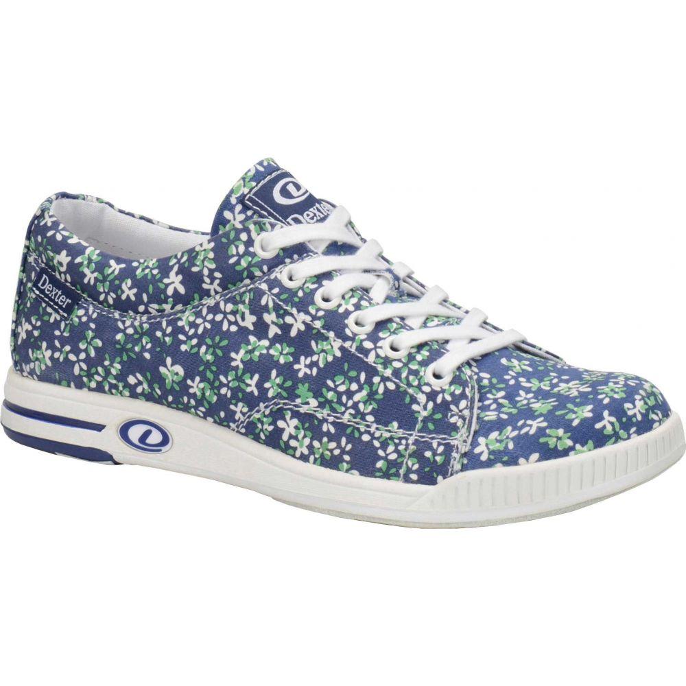デクスター Dexter レディース ボウリング シューズ・靴【Katie Bowling Shoes】Blue/Floral Print