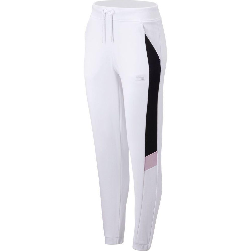 ニューバランス New Balance レディース ボトムス・パンツ 【Athletics Classic Fleece Pant】White