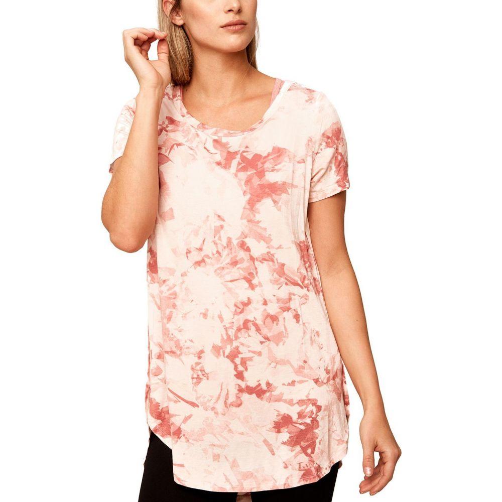 ロール Lole レディース Tシャツ トップス【Leticia T-Shirt】English Rose Shade Flower