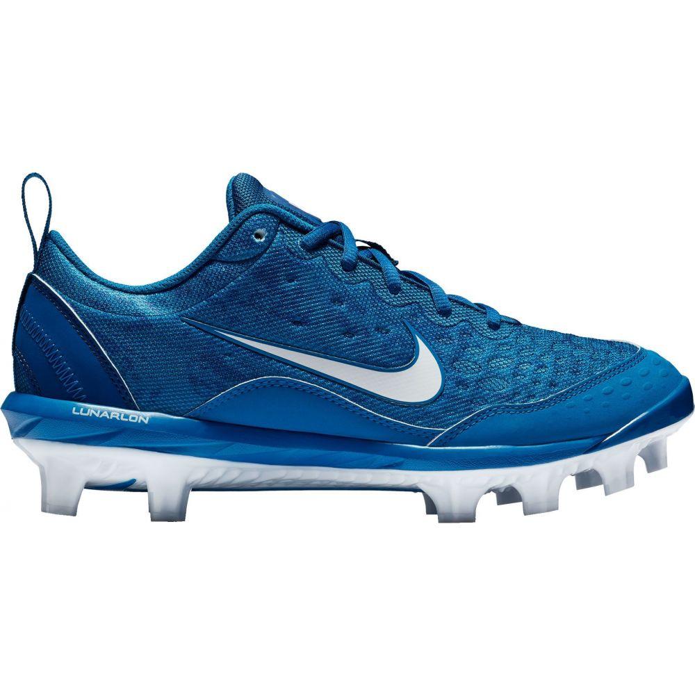 ナイキ Nike レディース 野球 スパイク シューズ・靴【Hyperdiamond 2 Pro Softball Cleats】Blue/White