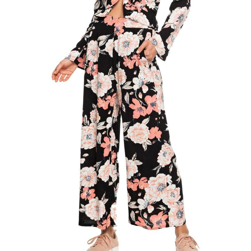 ロキシー Roxy レディース ボトムス・パンツ 【New Night Avenue Pants】Anthracite Combo
