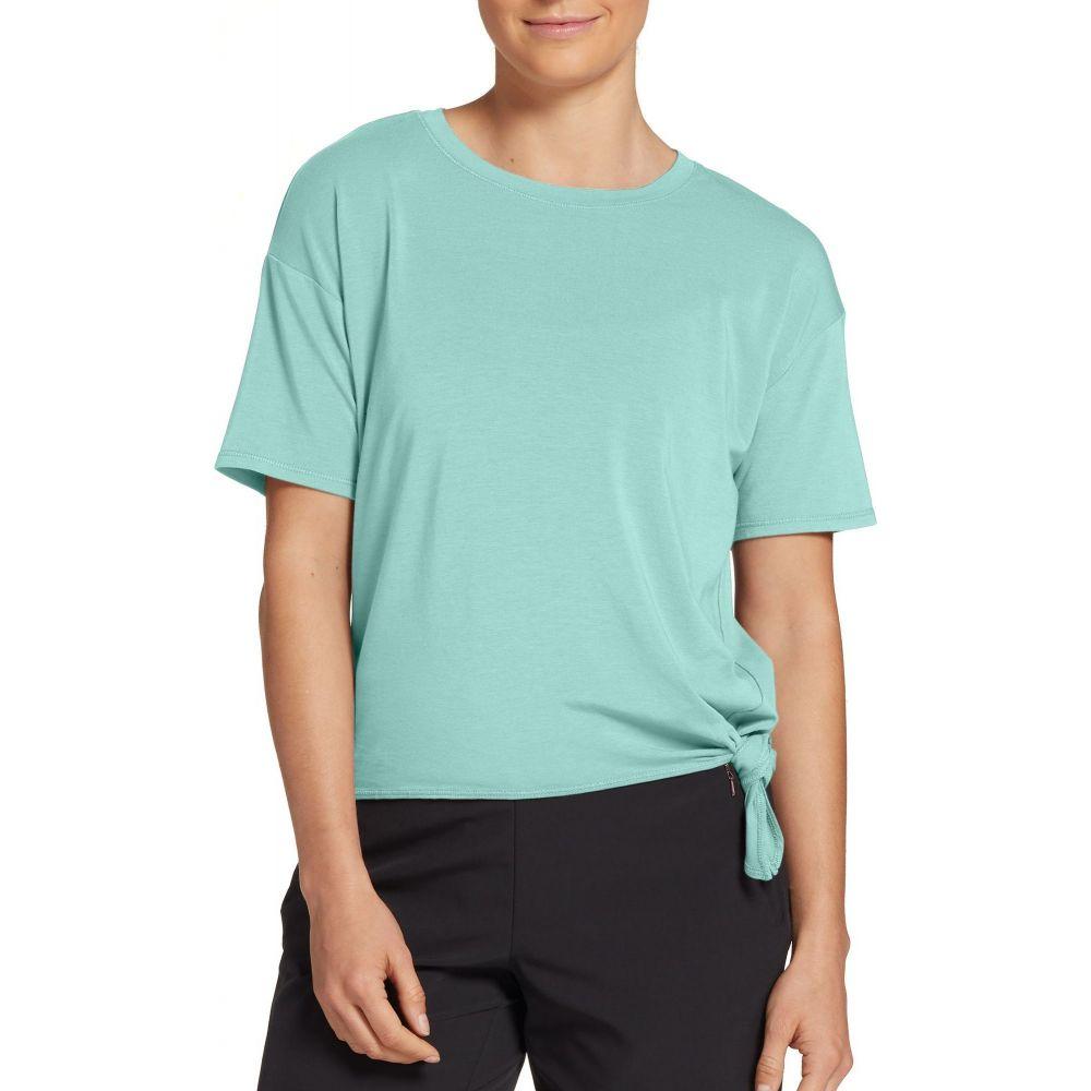 キャリー アンダーウッド CALIA by Carrie Underwood レディース Tシャツ トップス【Side Tie T-Shirt】Brook Green