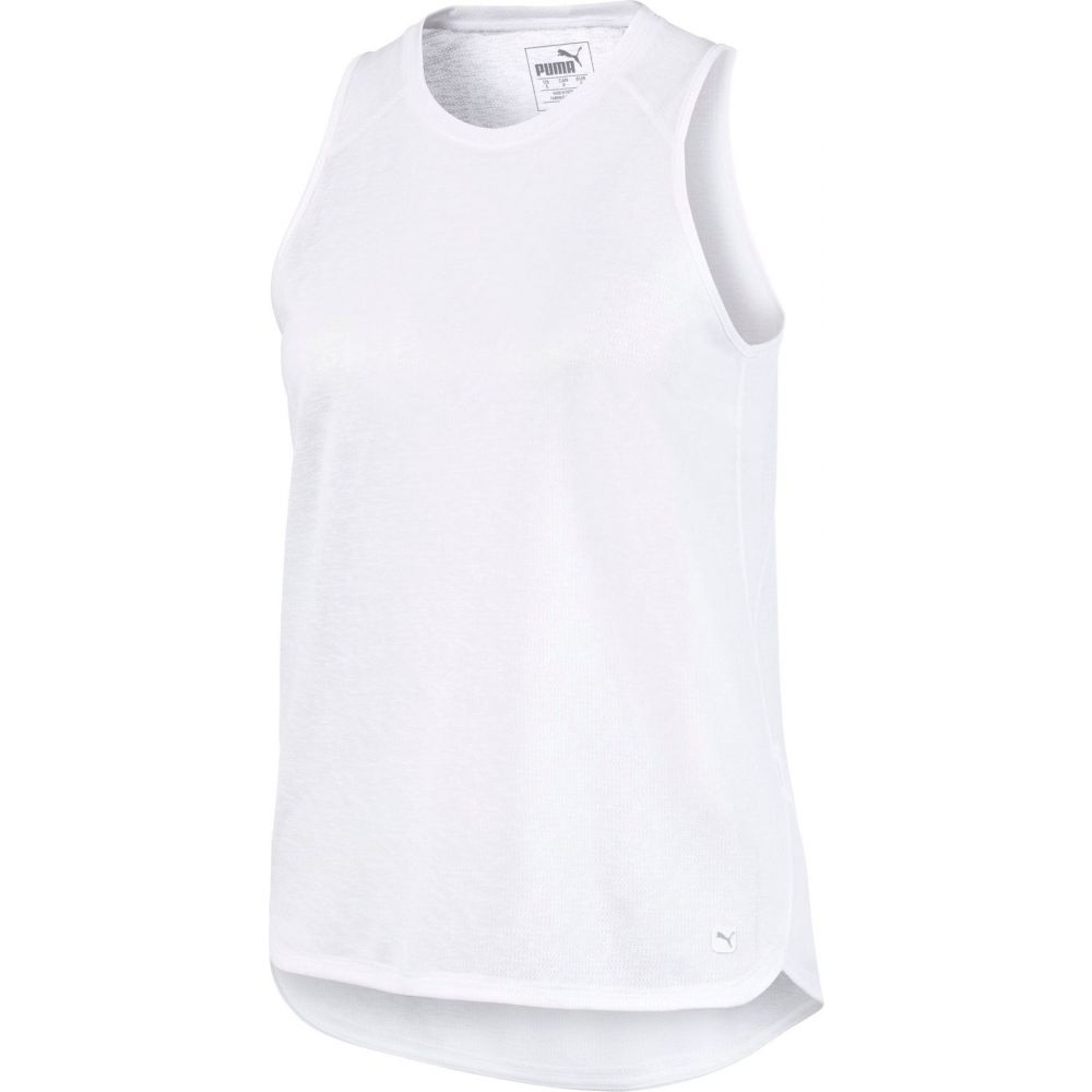 プーマ PUMA レディース ゴルフ タンクトップ ノースリーブ トップス【Resort Sleeveless Golf Tank】Bright White