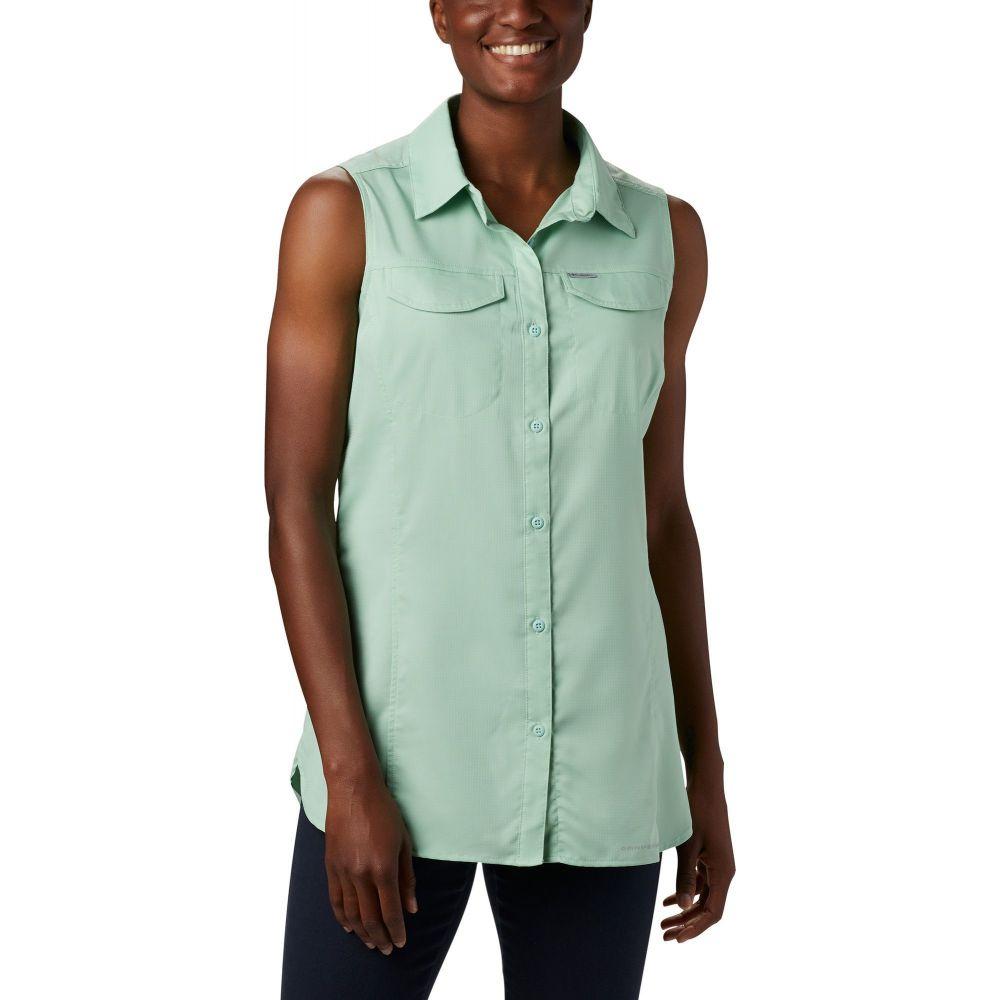 コロンビア Columbia レディース ノースリーブ トップス【Silver Ridge Lite Sleeveless Shirt】New Mint