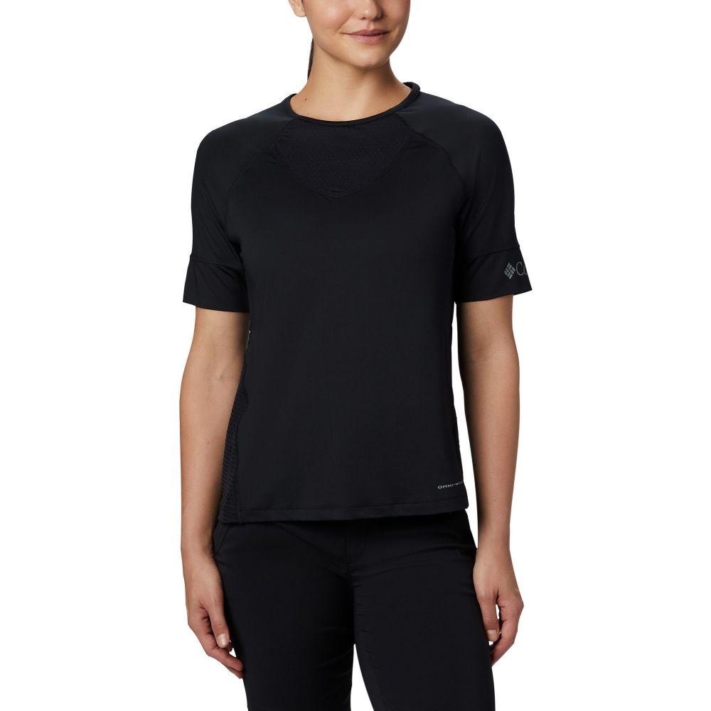 コロンビア Columbia レディース Tシャツ トップス【Windgates T-Shirt】Black