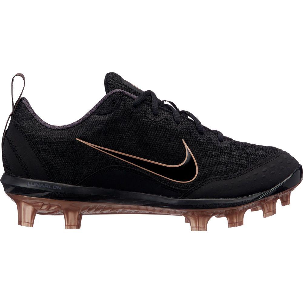ナイキ Nike レディース 野球 スパイク シューズ・靴【Hyperdiamond 2 Pro Softball Cleats】Black/Gold