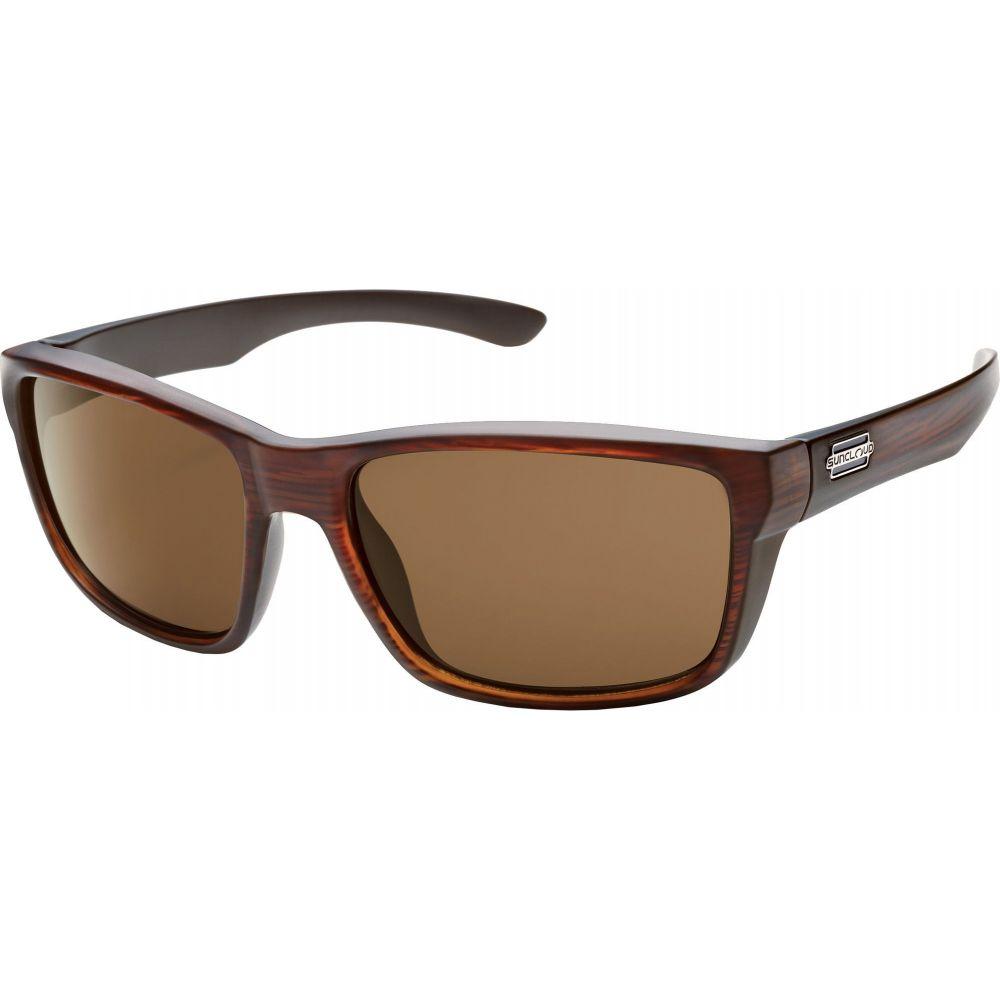 サンクラウド SUNCLOUD OPTICS レディース メガネ・サングラス 【Suncloud Optics Mayor Polarized Sunglasses】Burnished