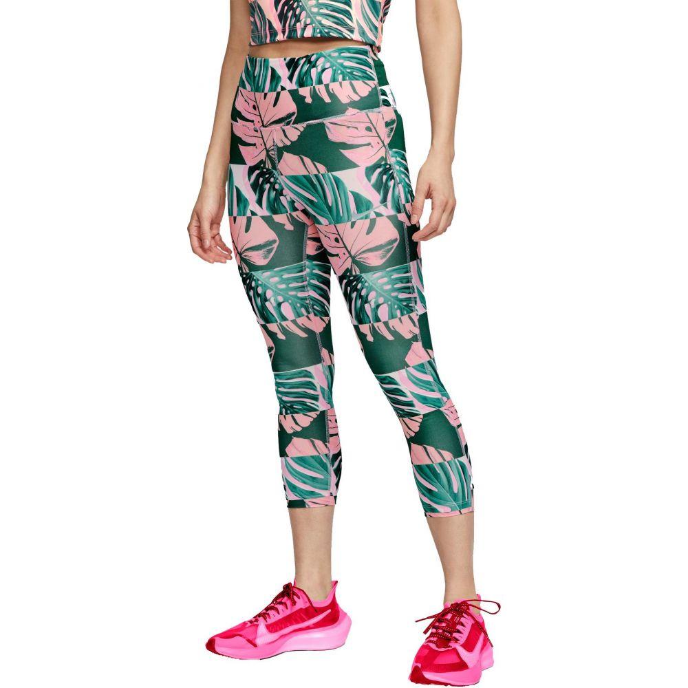 ナイキ Nike レディース スパッツ・レギンス インナー・下着【Boxed Botanical Fast Crop Leggings】Pink