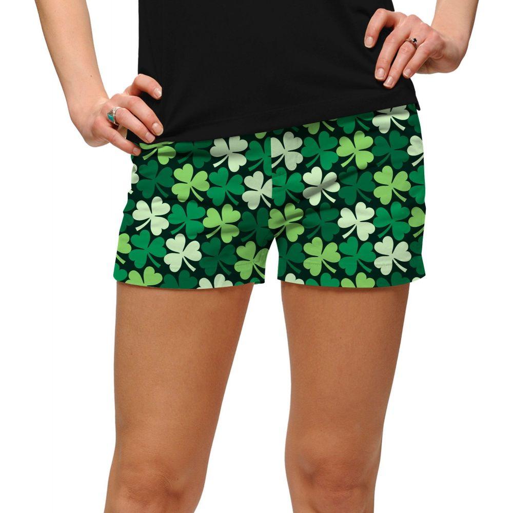 ラウドマウスゴルフ Loudmouth Golf レディース ゴルフ ショートパンツ ボトムス・パンツ【Loudmouth Sham Totally Rocks Golf Shorts】Green