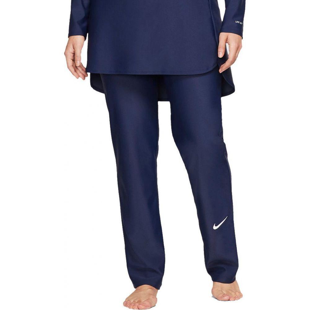 ナイキ Nike レディース ボトムのみ スパッツ・レギンス 水着・ビーチウェア【Victory Full Coverage Straight Leg Swim Leggings】Midnight Navy