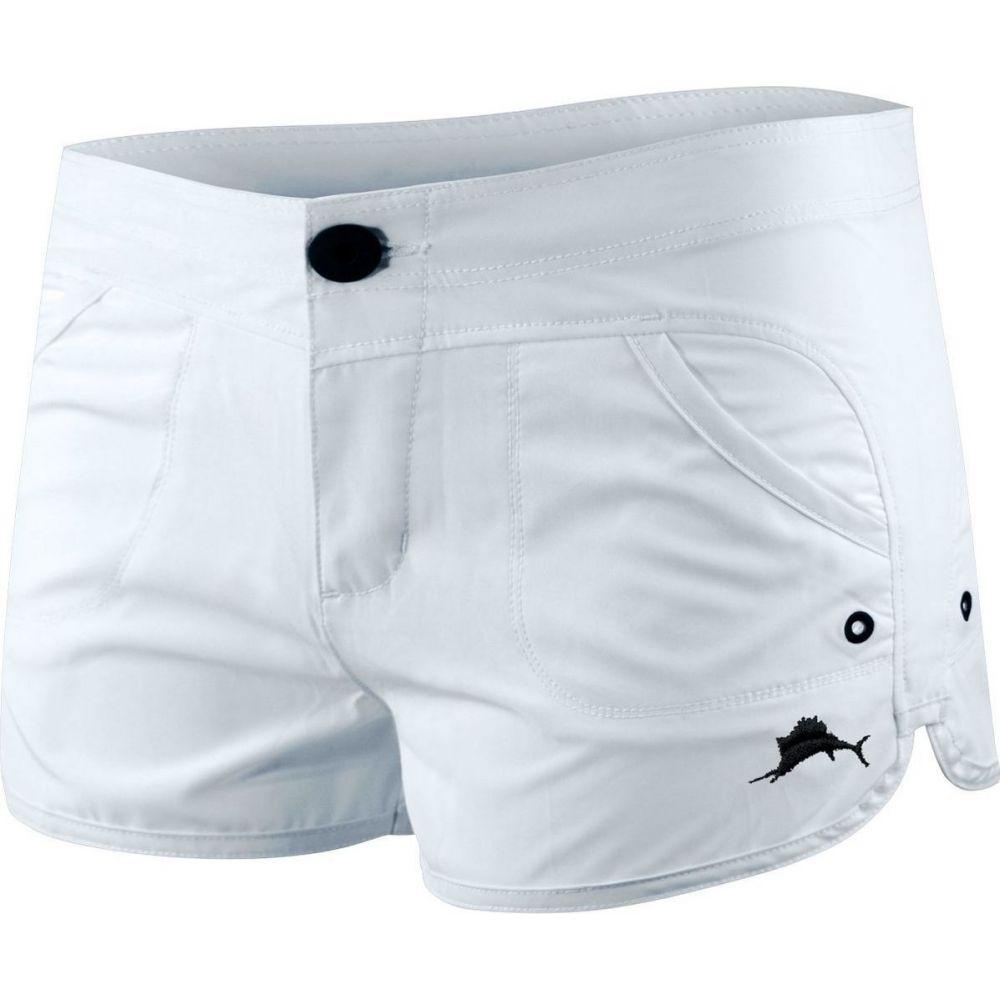ペラジック Pelagic レディース ショートパンツ ボトムス・パンツ【Moana Hybrid Shorts】White