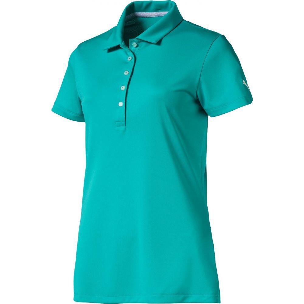 プーマ PUMA レディース ゴルフ ポロシャツ トップス【Pounce Golf Polo】Blue Turquoise