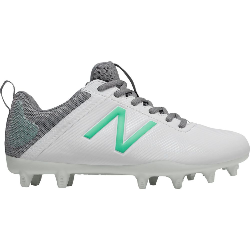 ニューバランス New Balance レディース ラクロス スパイク シューズ・靴【Draw Lacrosse Cleats】White/Green