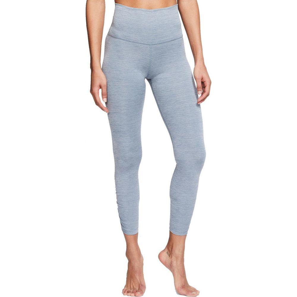 ナイキ Nike レディース ヨガ・ピラティス スパッツ・レギンス ボトムス・パンツ【Yoga Ruched 7/8 Training Tights】Diffused Blue