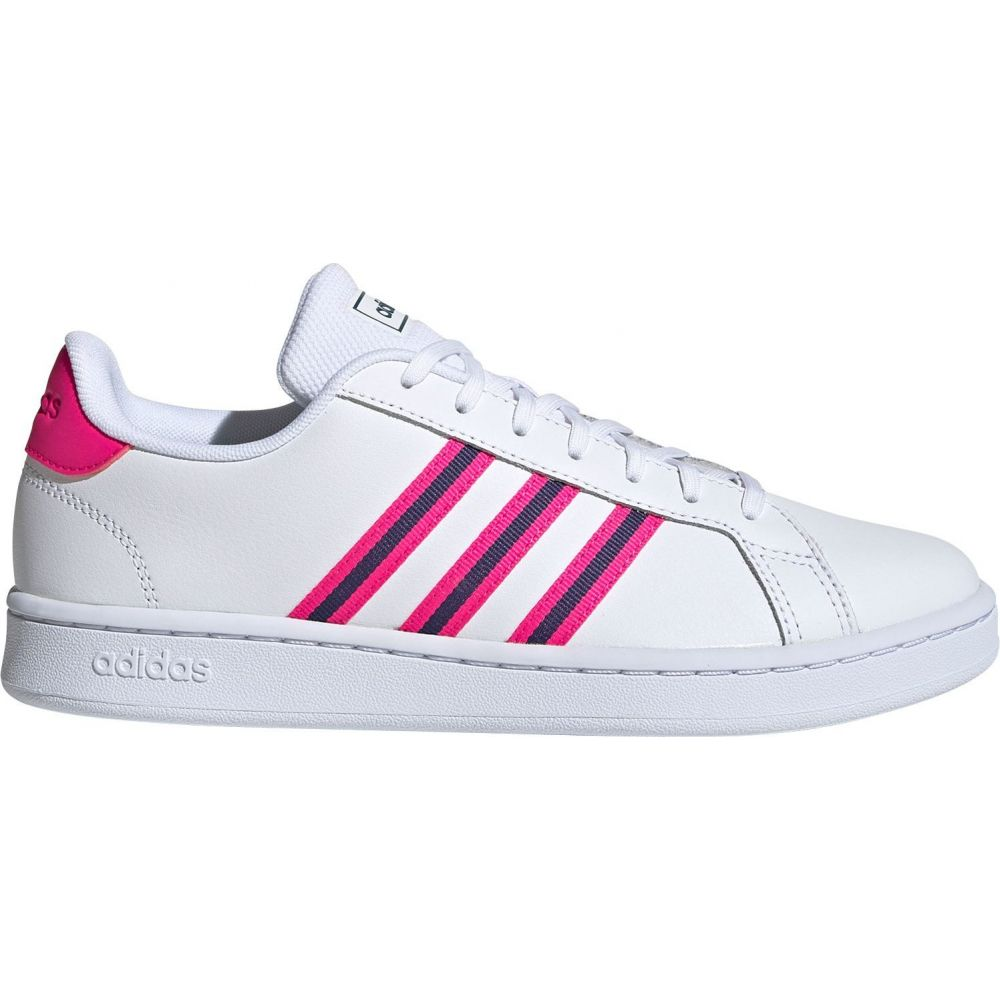 アディダス adidas レディース スニーカー シューズ・靴【Grand Court Shoes】White/Pink/Purple
