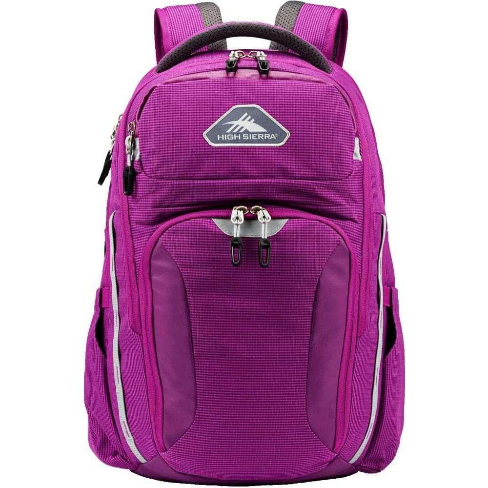 ハイシエラ High Sierra レディース バックパック・リュック バッグ【Autry Backpack】Hyacinth/Ash