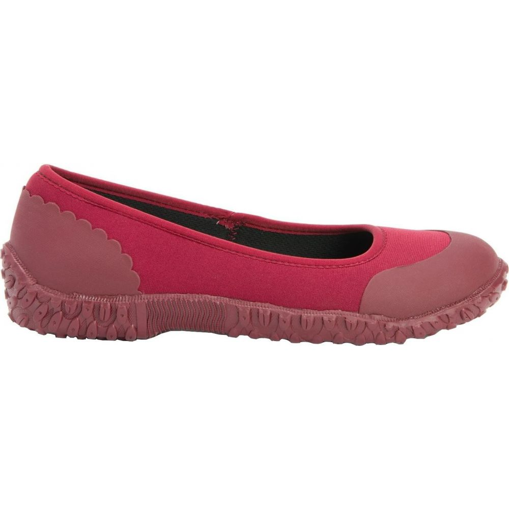 マックブーツ Muck Boots レディース スリッポン・フラット シューズ・靴【Muckster II Flats】Berry/Veggie Print