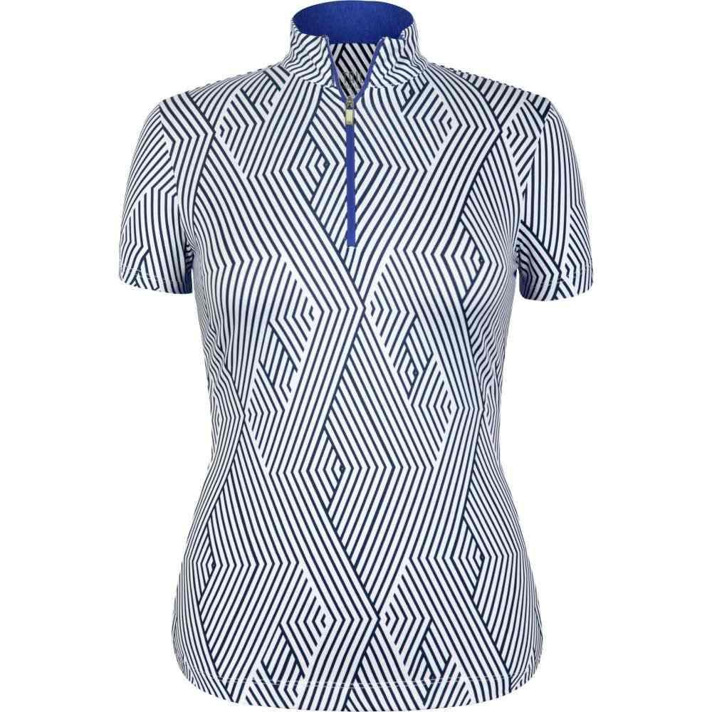 テイル Tail レディース ゴルフ トップス【Short Sleeve 1/4 Zip Golf Top】Pivot
