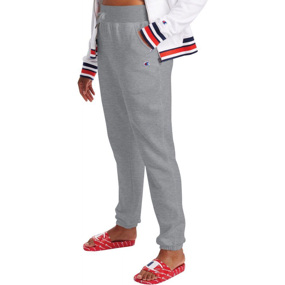 チャンピオン Champion レディース スウェット・ジャージ ボトムス・パンツ【Campus French Terry Sweatpants】Oxford Grey Heather