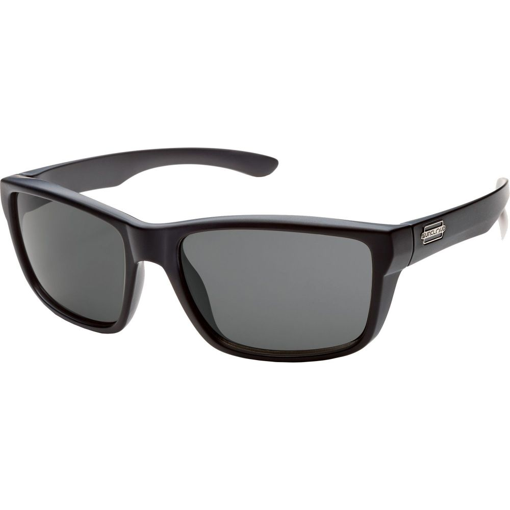 サンクラウド SUNCLOUD OPTICS レディース メガネ・サングラス 【Suncloud Optics Mayor Polarized Sunglasses】Black/Gray