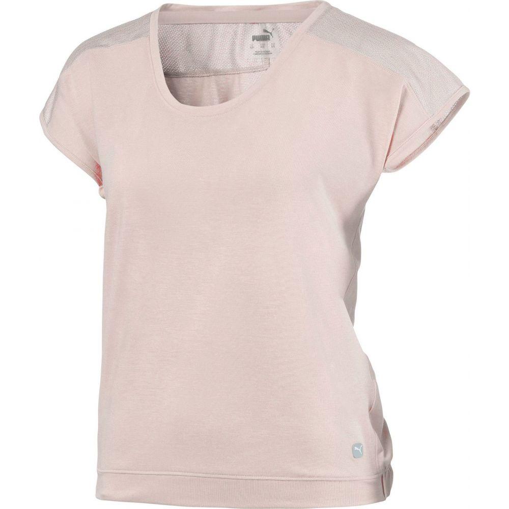 プーマ PUMA レディース ゴルフ トップス【Slouchy Short Sleeve Golf T-Shirt】Rosewater