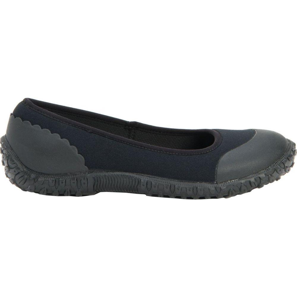 マックブーツ Muck Boots レディース スリッポン・フラット シューズ・靴【Muckster II Flats】Black/Night Floral