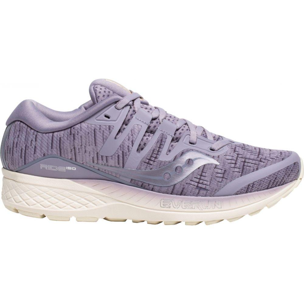 サッカニー Saucony レディース ランニング・ウォーキング シューズ・靴【Ride ISO Running Shoes】Purple Shade
