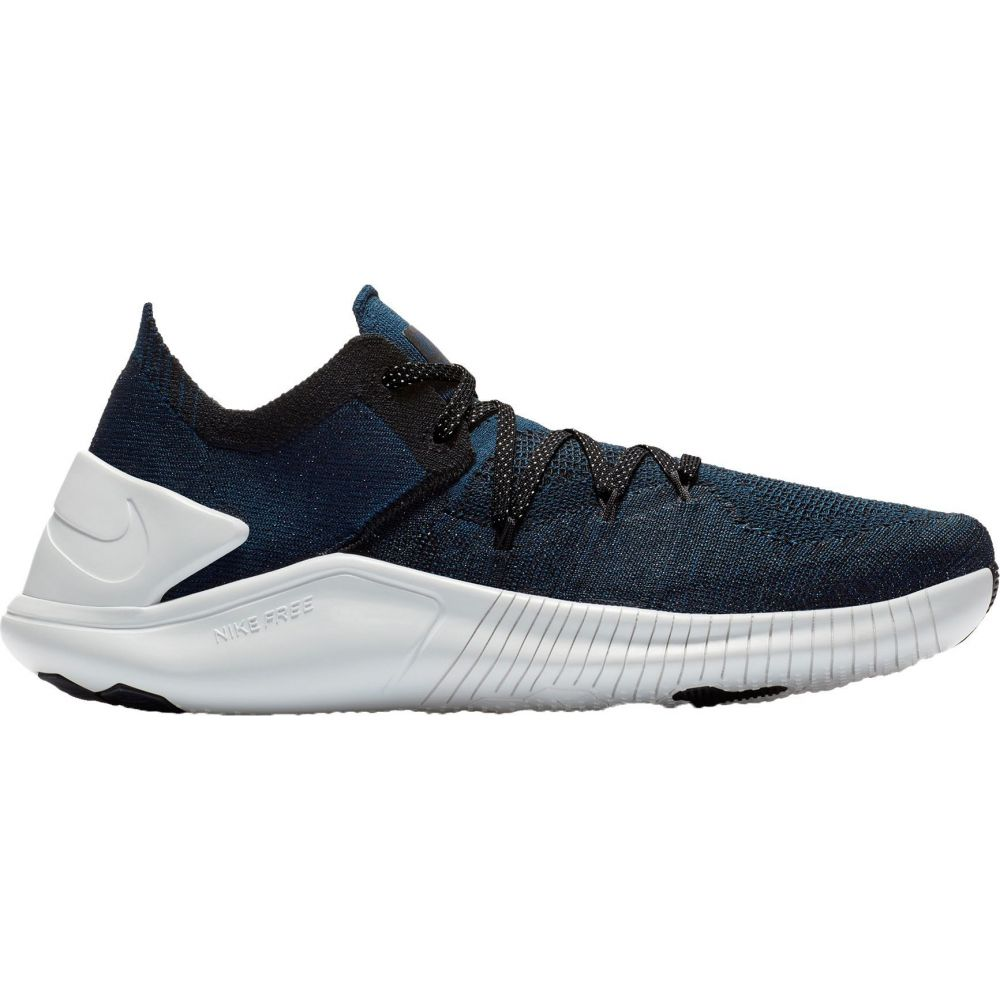 ナイキ Nike レディース フィットネス・トレーニング シューズ・靴【TR Flyknit 3 Training Shoes】Navy/Black/Silver