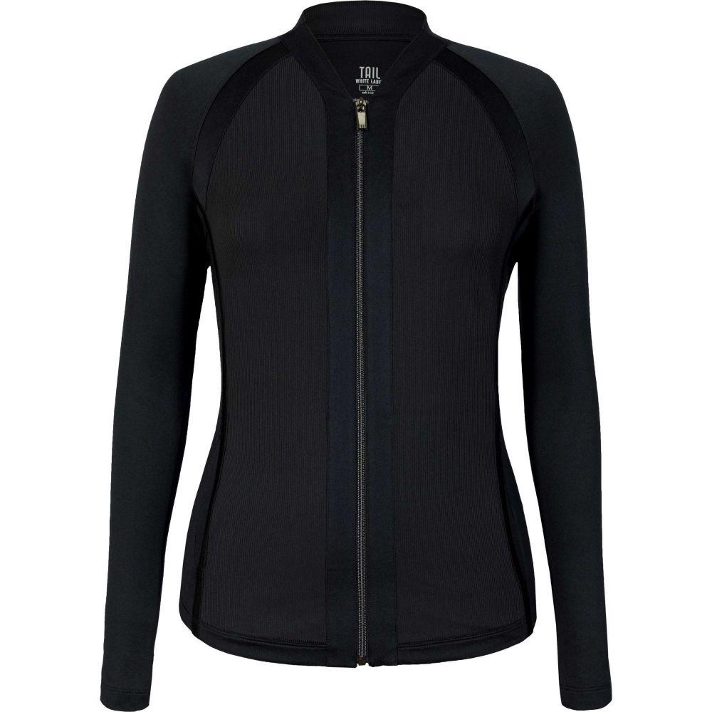 テイル Tail レディース ゴルフ ラグラン ジャケット アウター【Raglan Full-Zip Golf Jacket】Black