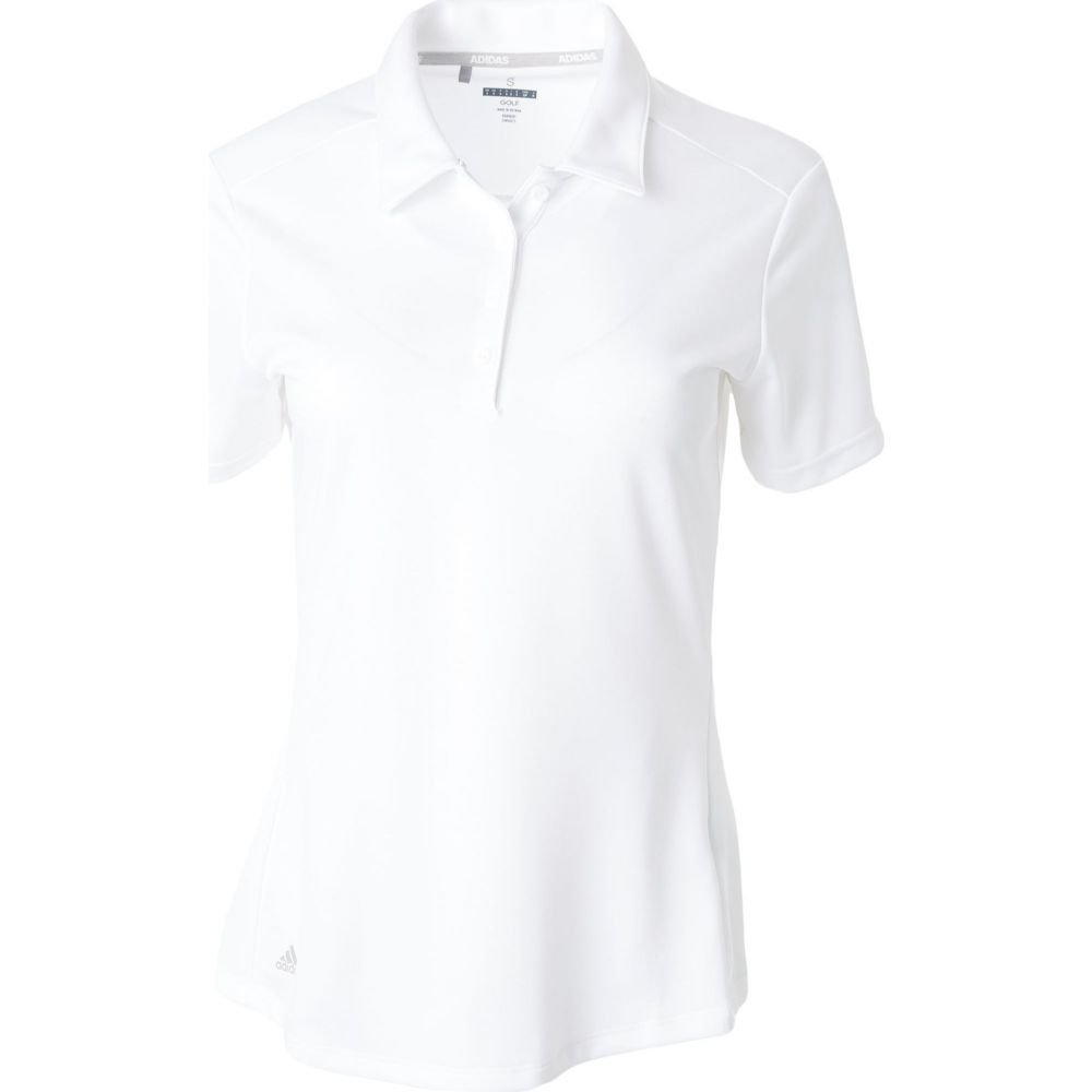 アディダス adidas レディース ゴルフ ポロシャツ トップス【Drive Golf Polo】White