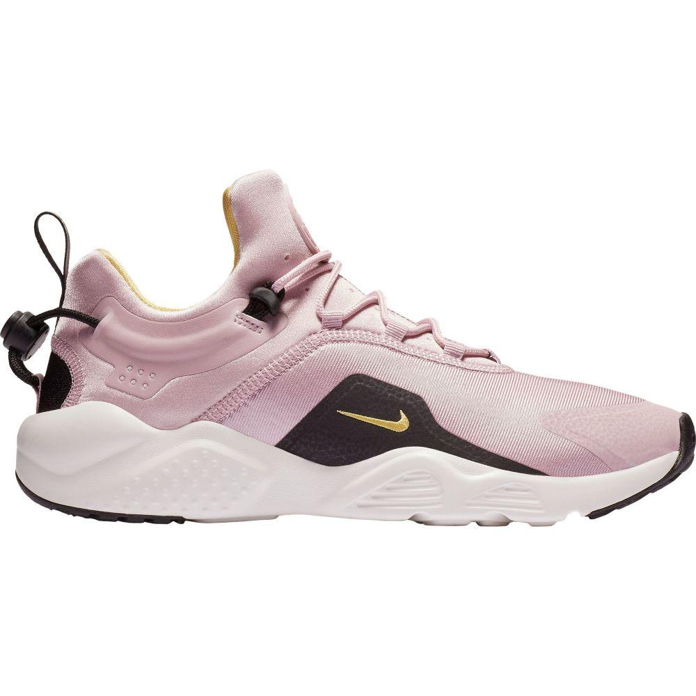 ナイキ Nike レディース スニーカー シューズ・靴【Air Huarache City Move Shoes】Plum/Black/Yellow
