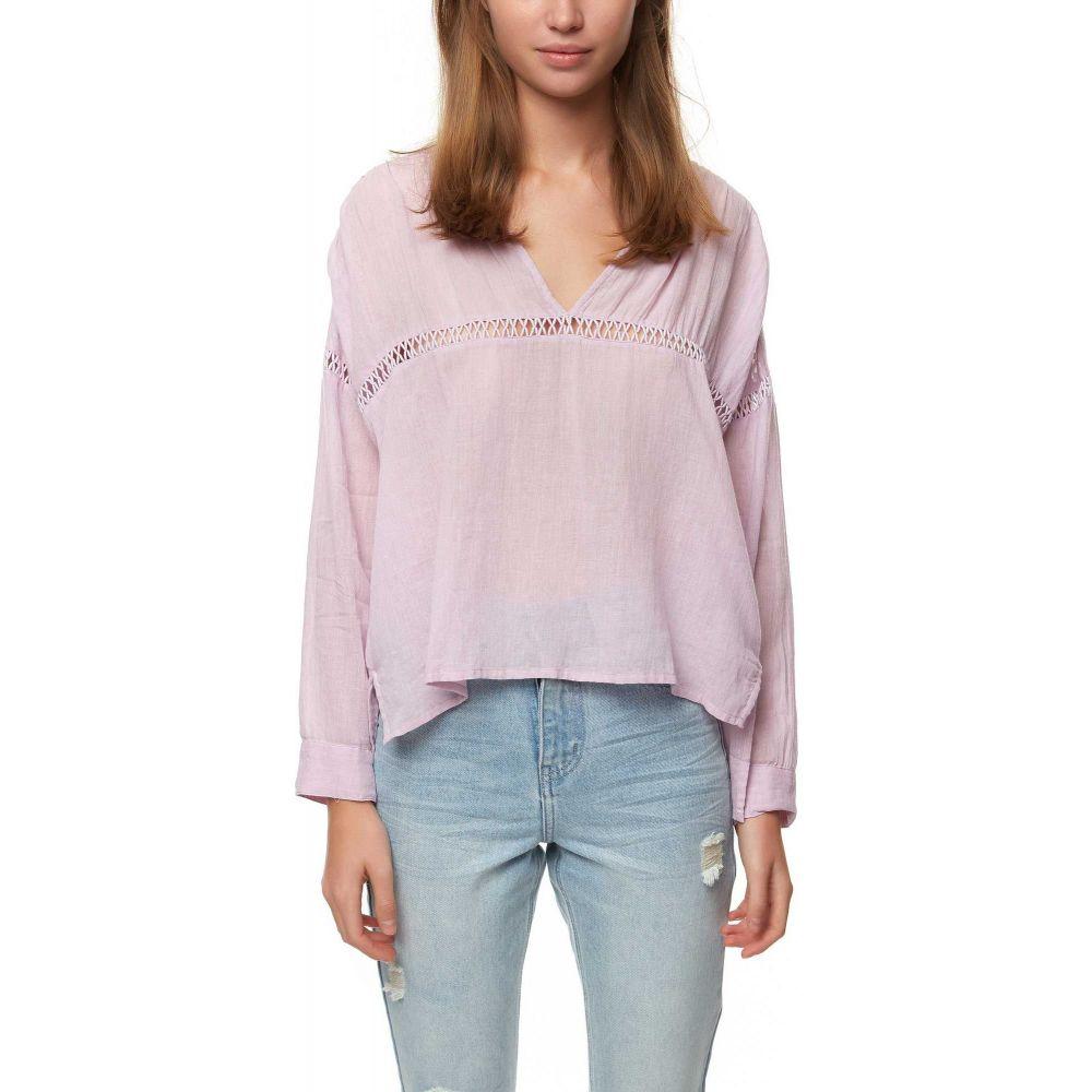 オニール O'Neill レディース トップス 【Seaside Long Sleeve Woven Shirt】Orchid