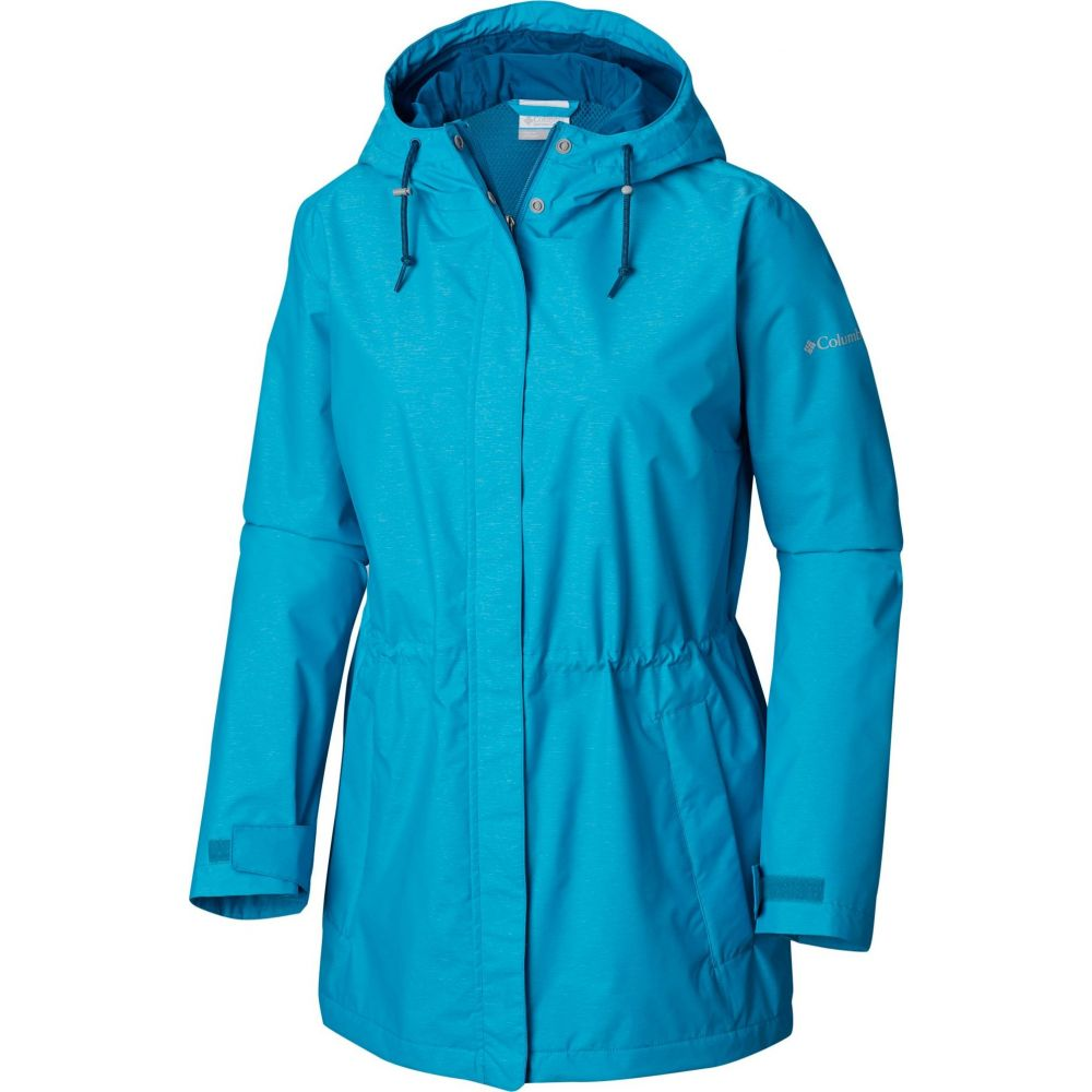 コロンビア Columbia レディース ジャケット マウンテンジャケット アウター【Norwalk Mountain Jacket】Modern Turq Heather