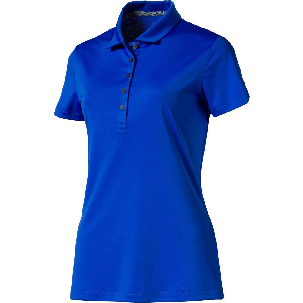 プーマ PUMA レディース ゴルフ ポロシャツ トップス【Pounce Golf Polo】Dazzling Blue