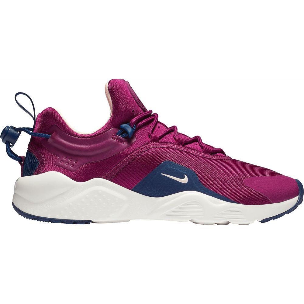 ナイキ Nike レディース スニーカー シューズ・靴【Air Huarache City Move Shoes】Berry/Navy