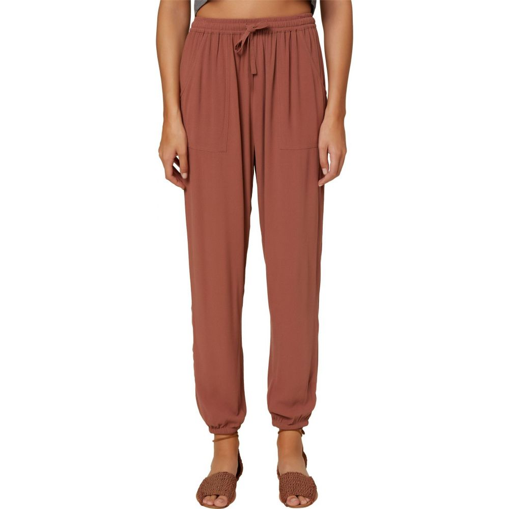オニール O'Neill レディース ボトムス・パンツ 【Fern Woven Pants】Cognac