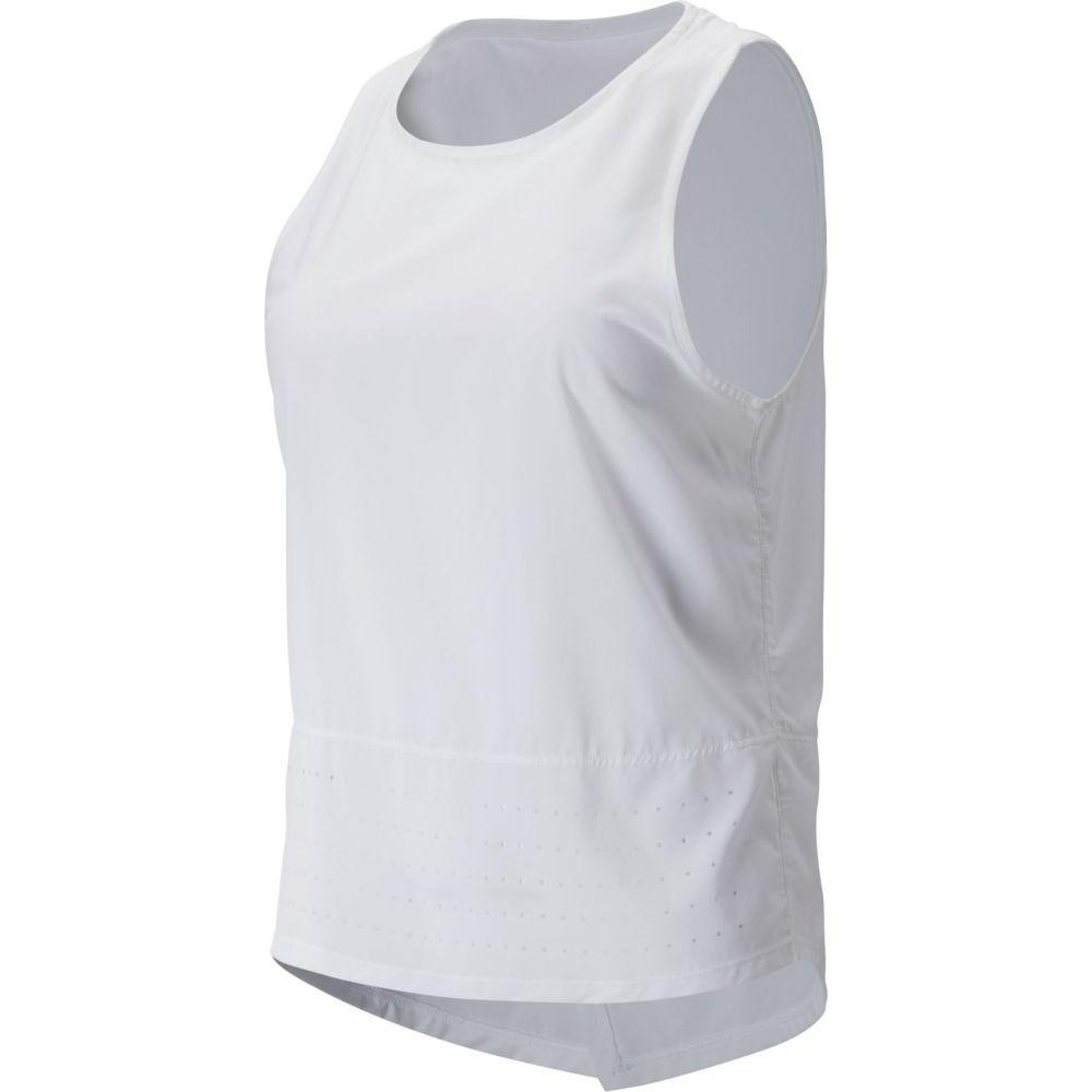 ニューバランス New Balance レディース タンクトップ トップス【Determination Tie Back Tank Top】White