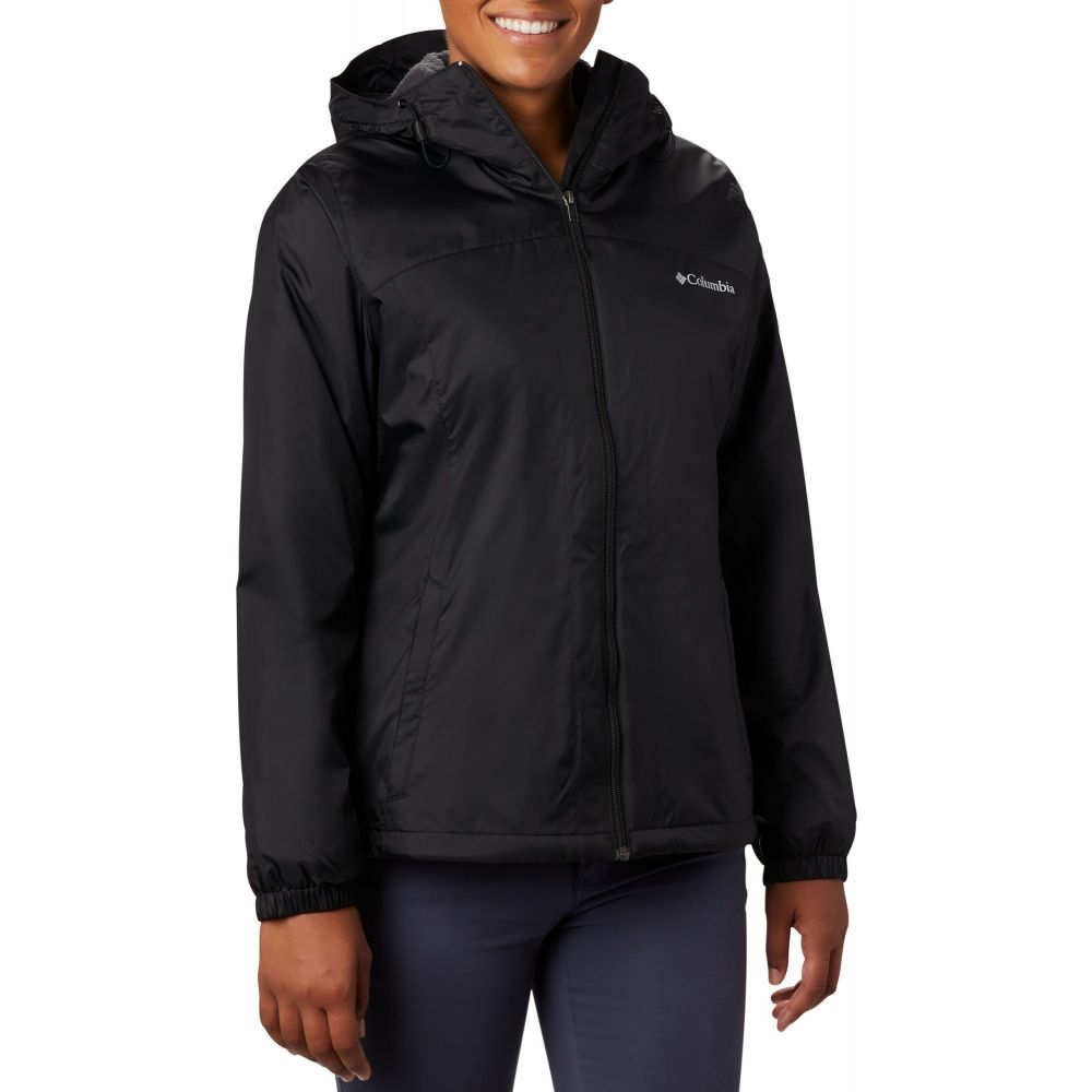 コロンビア Columbia レディース ジャケット アウター【Switchback Sherpa Lined Jacket】Black
