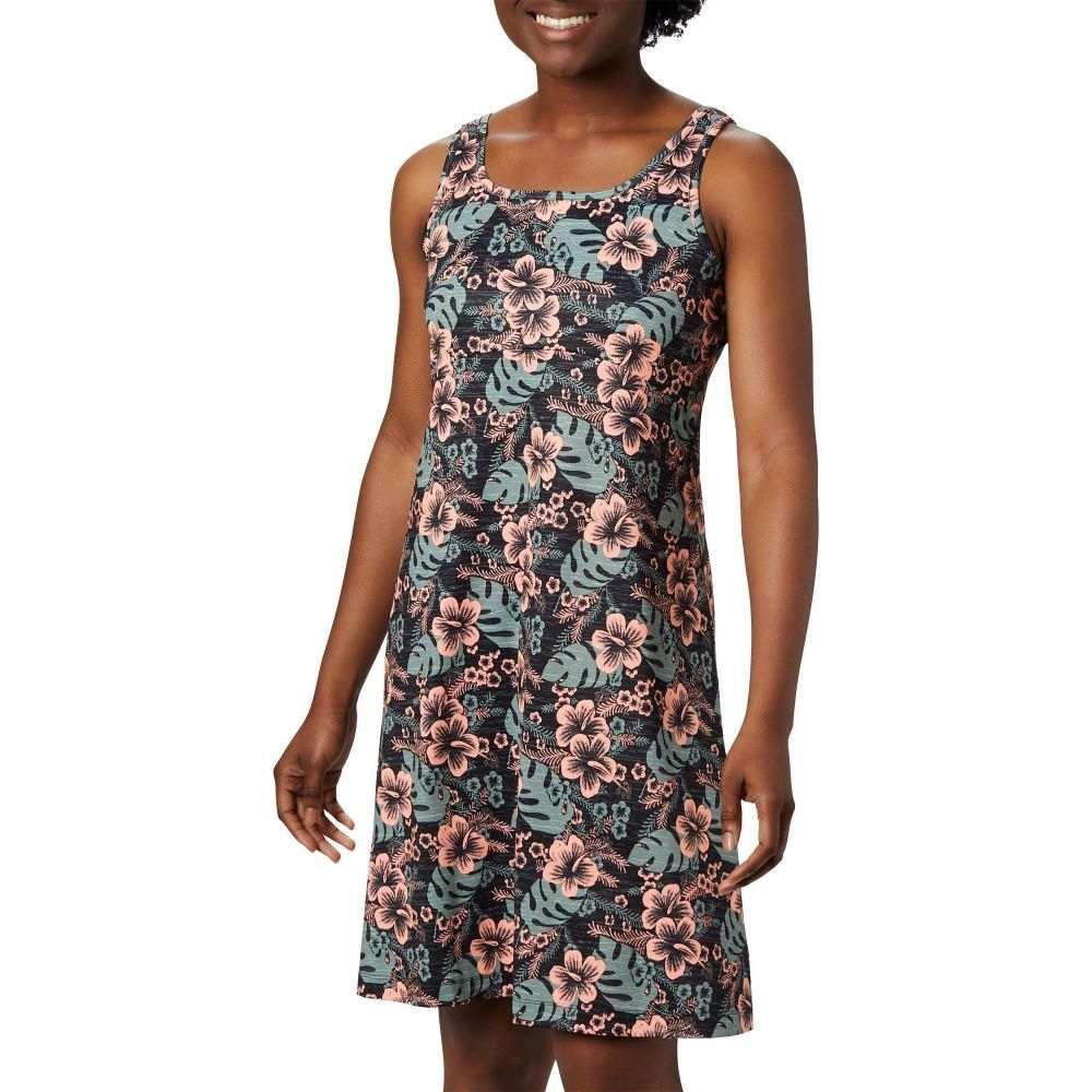 コロンビア Columbia レディース ワンピース ワンピース・ドレス【Freezer III Dress】Black Vacay Vibes Print